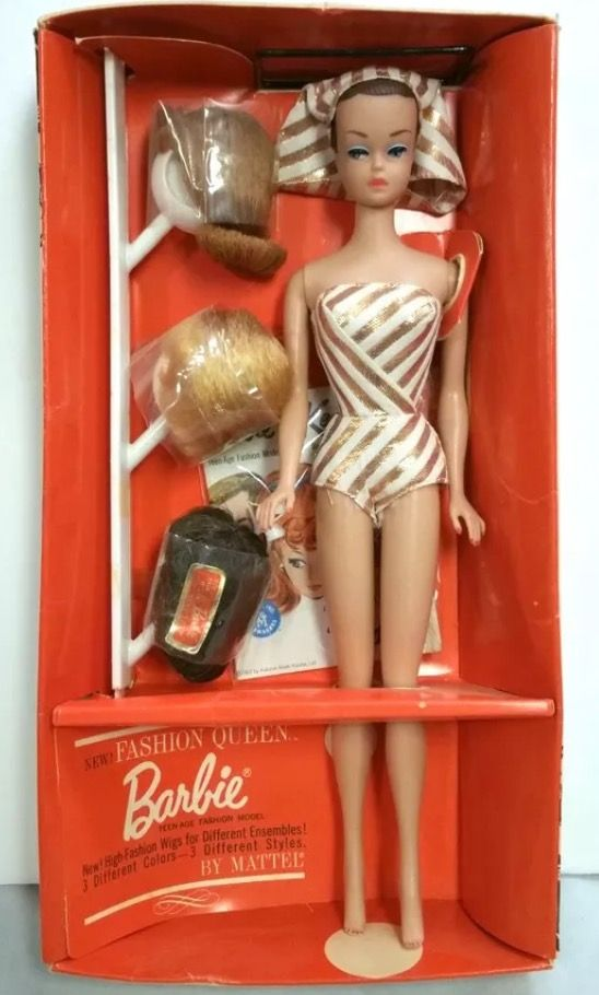 Fashion Queen Barbie   1963 I have this one    Barbie   Pinterest     Fashion Queen Barbie   1963 I have this one