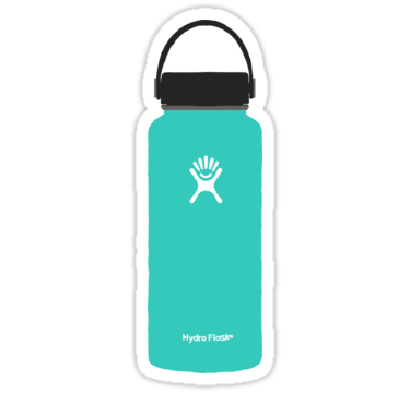 Turquoise Hydroflask Stickers By Sammiagranov Redbubble Hydroflask Stickers Iphone Case Stickers Phone Stickers