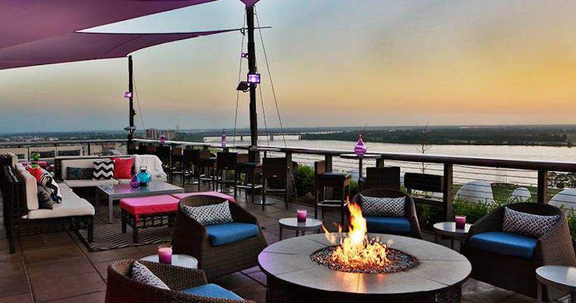 20 Actually Fun Memphis Date Ideas Rooftop Restaurant
