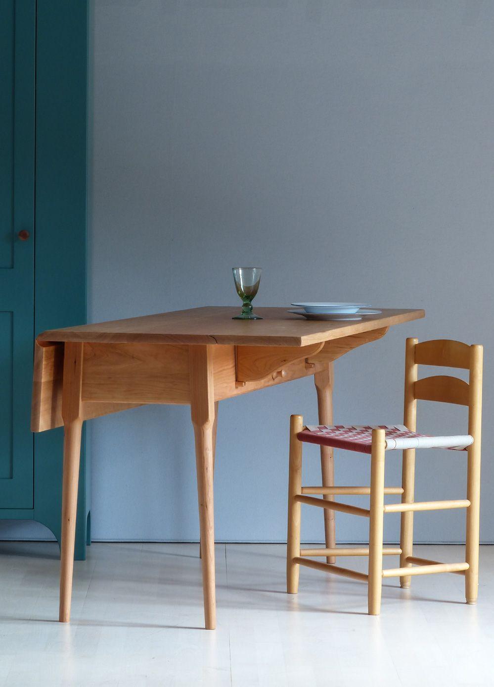 Shaker dropleaf-table // Seeland | Shaker | Pinterest | Tisch, Möbel ...