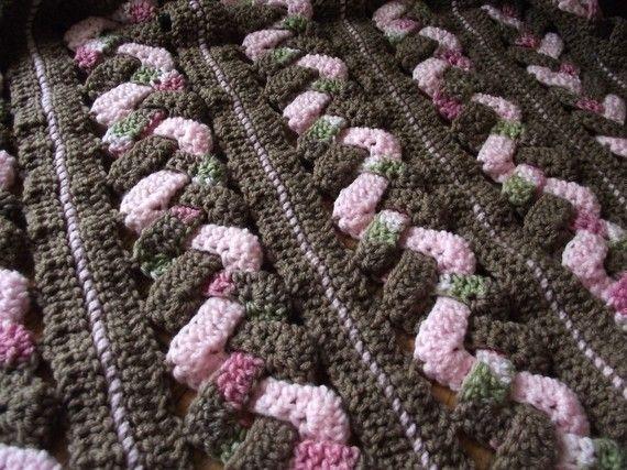 Crochet Pattern Weaves Baby Blanket by RAKJpatterns on Etsy
