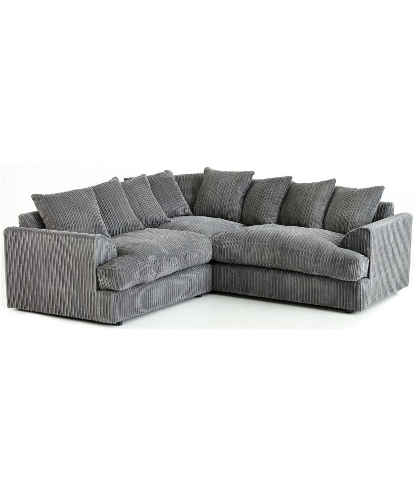 Buy Jamba Jumbo Cord Corner Sofa At Argos Co Uk Your Online Shop For Sofas With Images Corner Sofa Corner Sofa Fabric Grey Corner Sofa