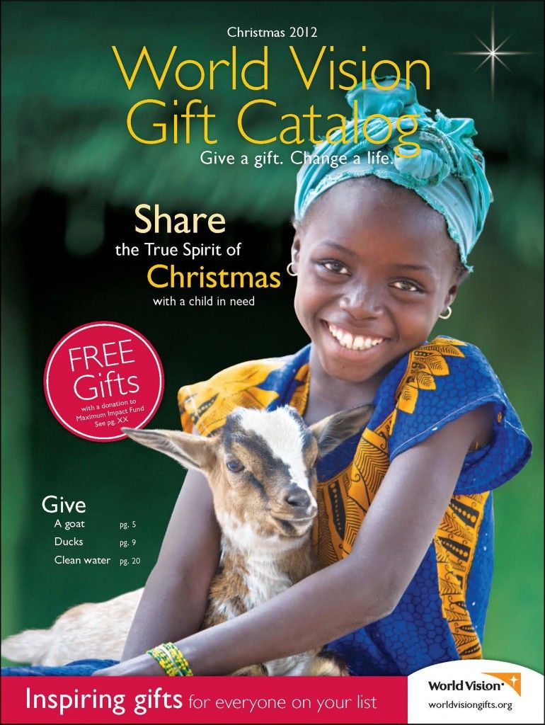Wonderful World Vision Christmas Gifts Part - 3: World Vision Gift Catalog...blessing Those In Real Need!