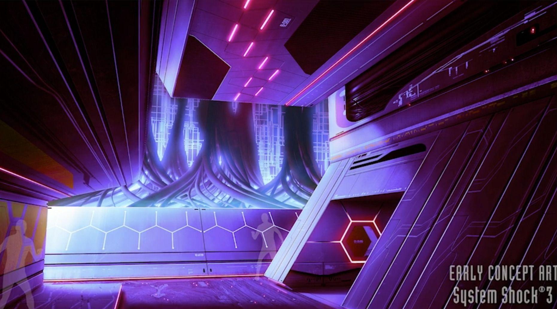 System Shock 3 concept art, approved by SHODAN | TweakTown