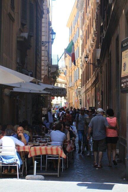 Straatje in Rome