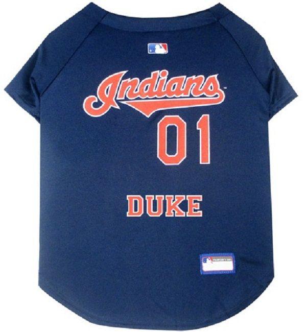 Cleveland Indians Dog Jersey Personalized SM-XXL MLB Pet Clothes    pet  apparel    pet clothing    cat clothes    dog clothes    sports fan c84e737e3