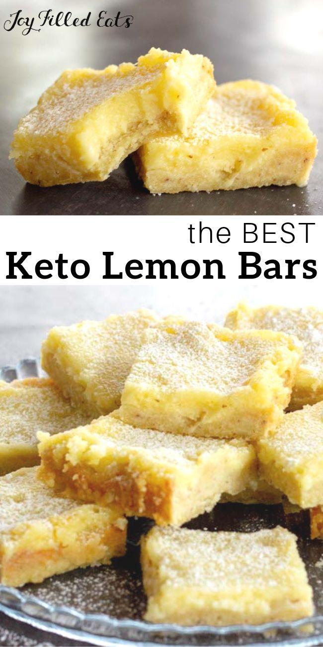 Lemon Squares - Low Carb, Keto, THM S, Gluten-Free, Sugar-Free Keto Lemon Squares - Low Carb, Glute