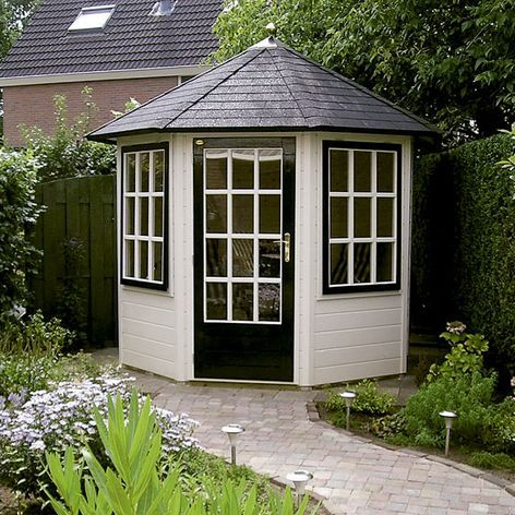 Garden Sheds And Summerhouses prima leonie octagonal garden summerhouse from lugarde | garden