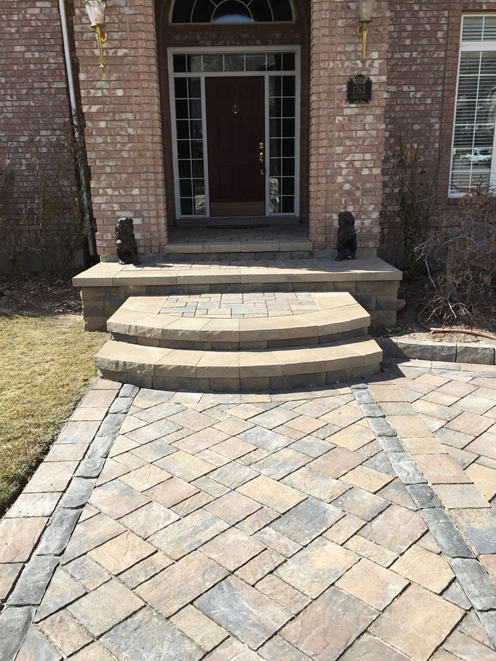 Belgard Urbana Pavers In Danville Blend Belgard In 2019