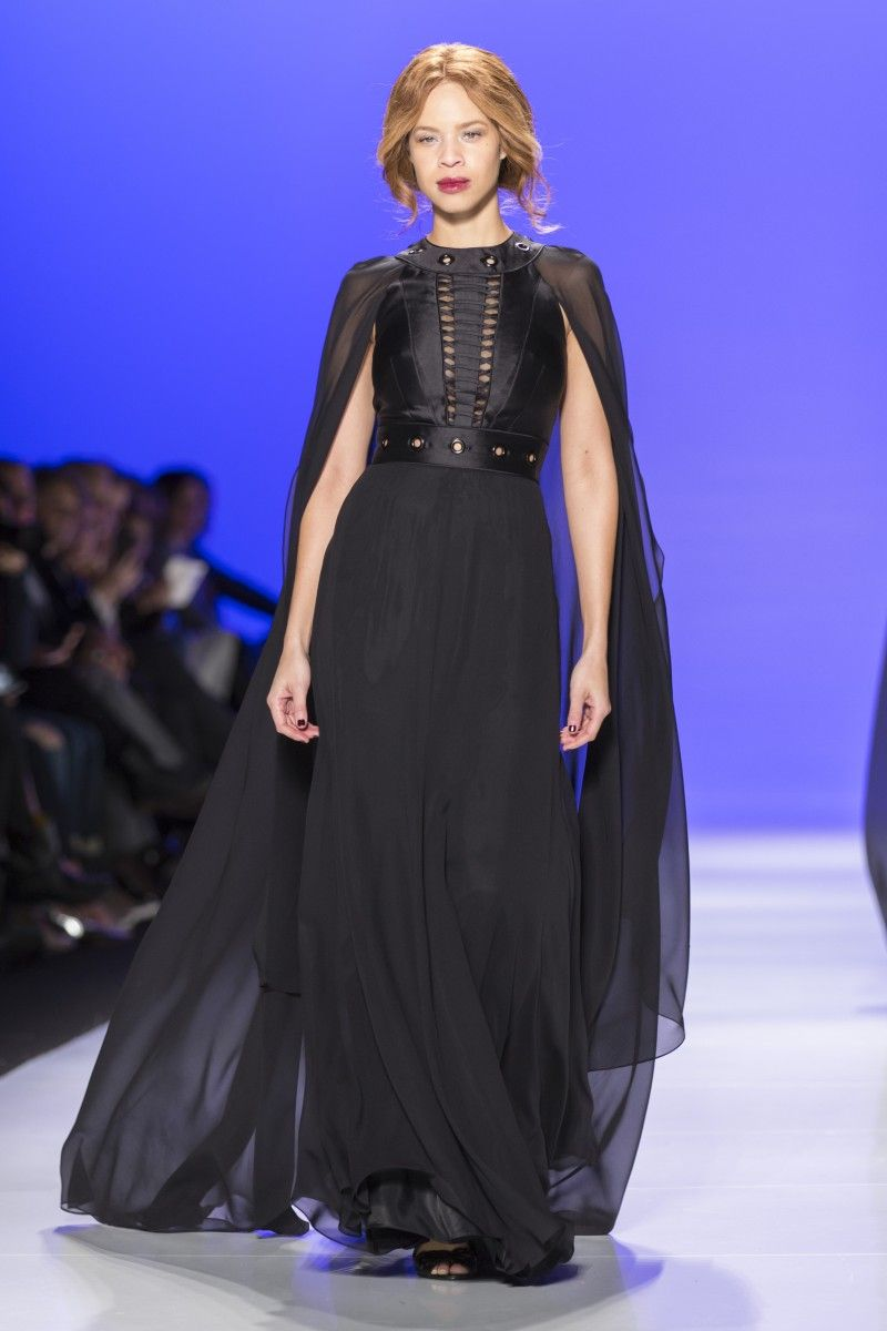 David Dixon Fall 2015: See every black-on-black look from the designer's 20th anniversary collection | FASHION Magazine |