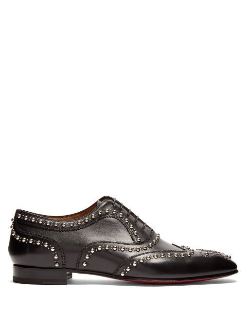 Charlie Clou studded leather oxford shoes Christian Louboutin nSd9CPaD6