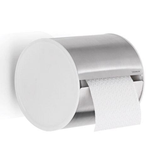 beau dérouleur de papier toilette en #inox au design épuré qui