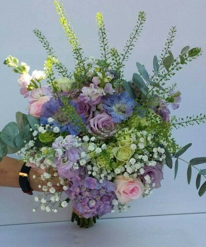 Country Garden Bouquet Floral Wreath Wedding Flowers Country Gardening