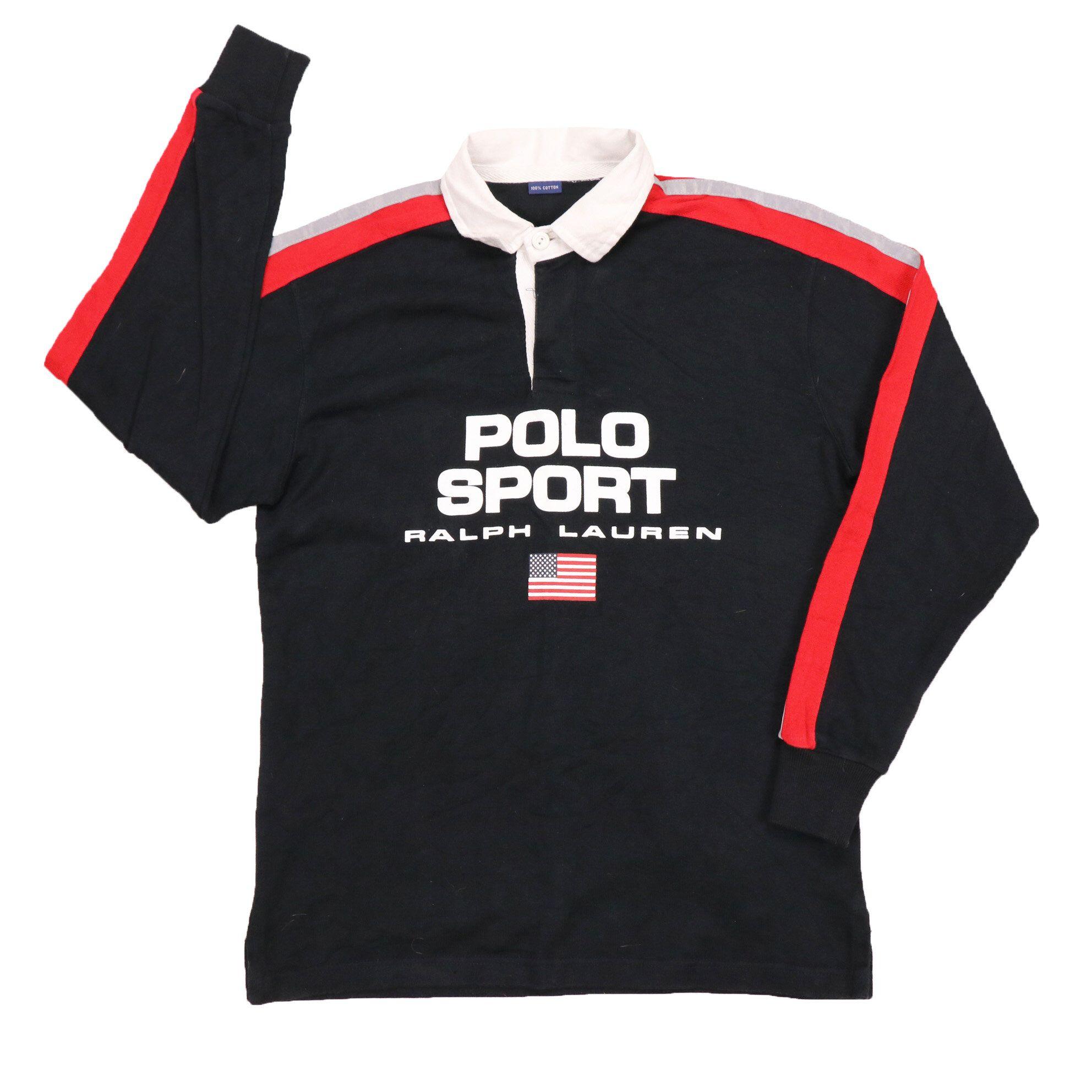 Vintage 90s polo Sport Ralph Lauren rugby