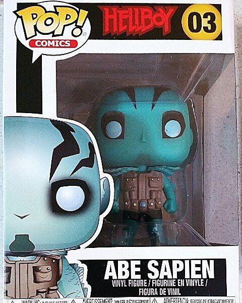 Funko POP Comics Abe Sapien Brand New In Box Hellboy