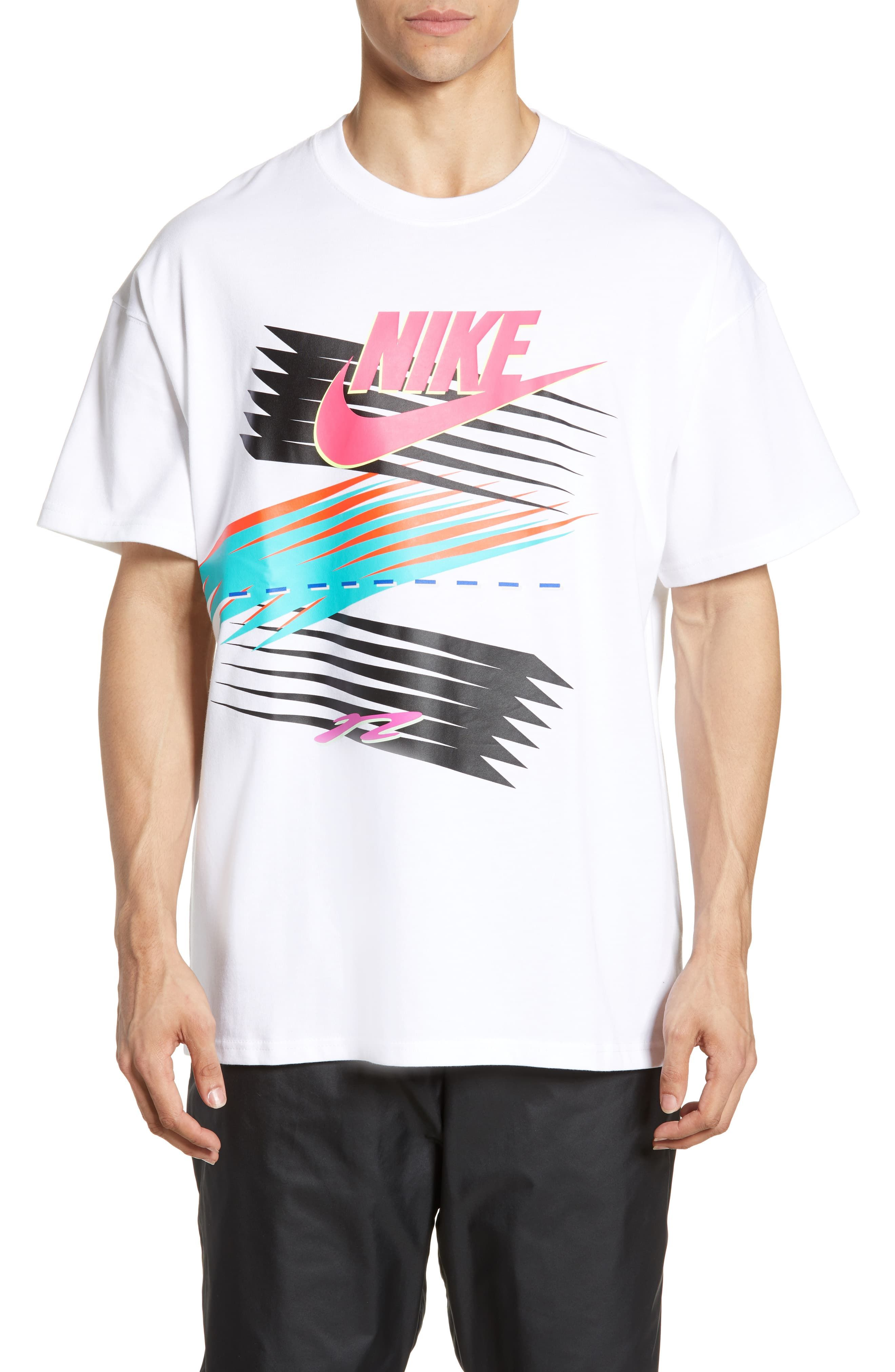 Men's Nike X Atmos Men's T Shirt, Size Small White in 2020