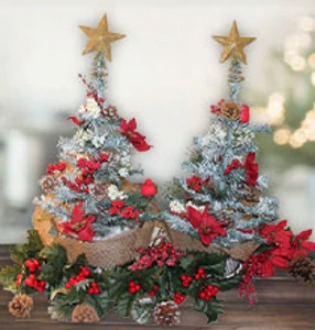 Hey All You Christmas Tree Lovers This One Is For You This Year I Have Been Obsessed With Tabletop T In 2020 Christmas Tree Tabletop Christmas Tree Dollar Tree Diy