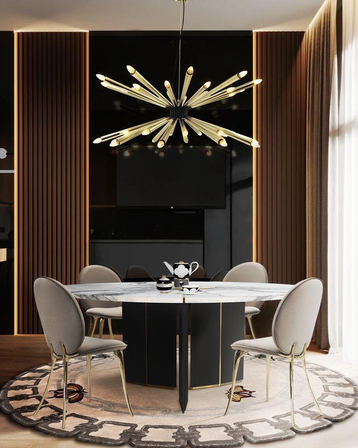 Lustre moderne pour salle à manger | www.deligthfull.eu