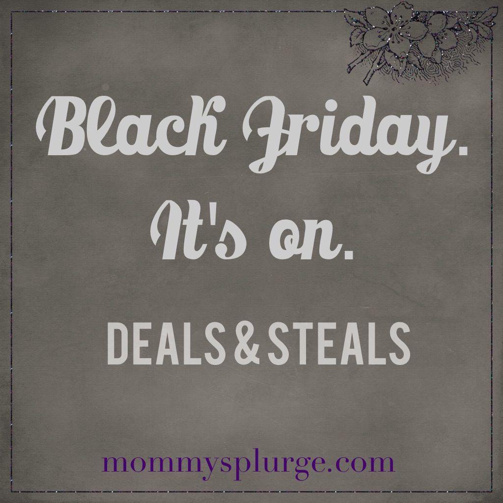 Black Friday Deals Roundup - http://mommysplurge.com/black-friday-deals-2013/ #blackfriday