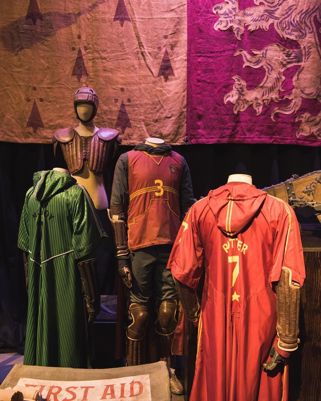 Creating uniforms for a magical sport was a unique