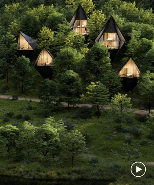 peter pichler nestles sustainable tree houses into the rugged landscape of west virginia