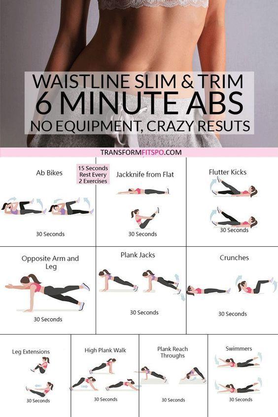 Top 10 Exercises To Cinch The Waist & Sculpt Your Obliques