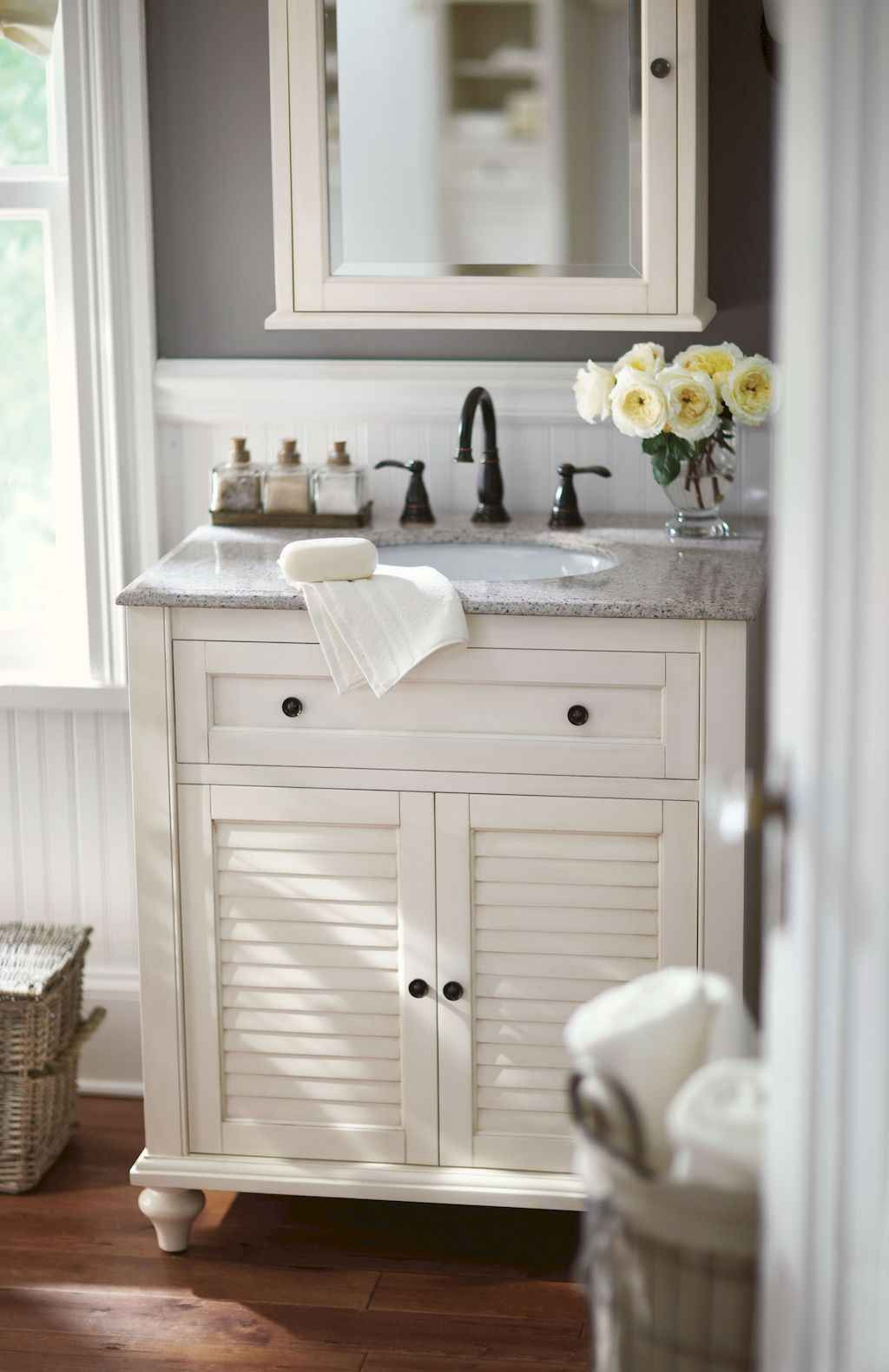 60 Cool Rustic Powder Room Design Ideas 58 Small Bathroom