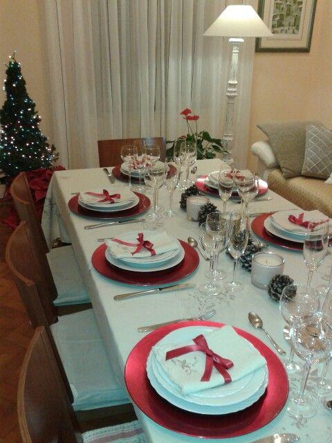 La mia tavola Natalizia & La mia tavola Natalizia   Tablescapes - Christmas winter ...