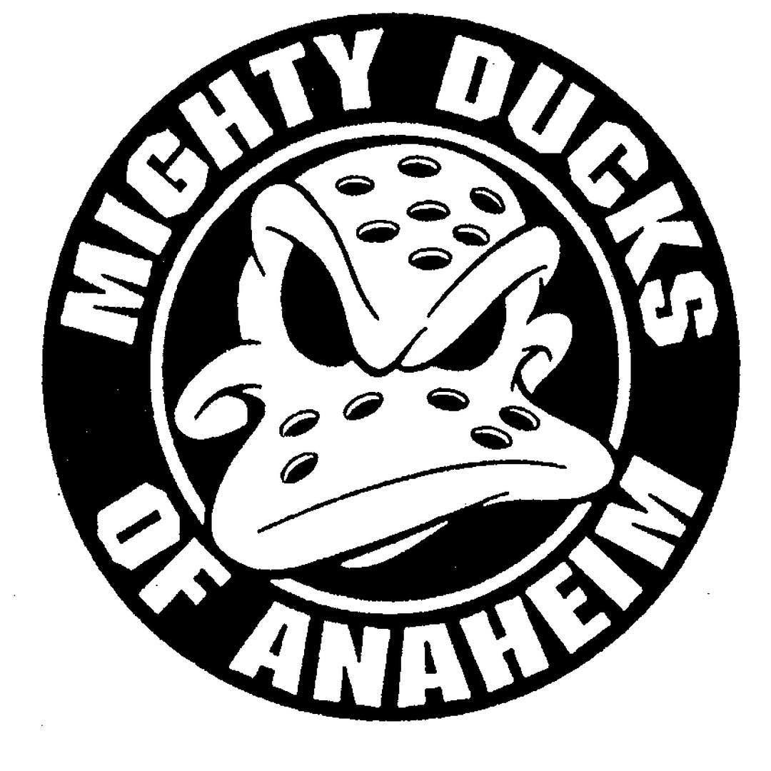 Classic Anaheim Ducks Logo Registered As Trademark On This Day In 1998 First Use In 1996 Nhl Ducks Nhlducks Bran Anaheim Ducks Ducks Hockey Hockey Logos