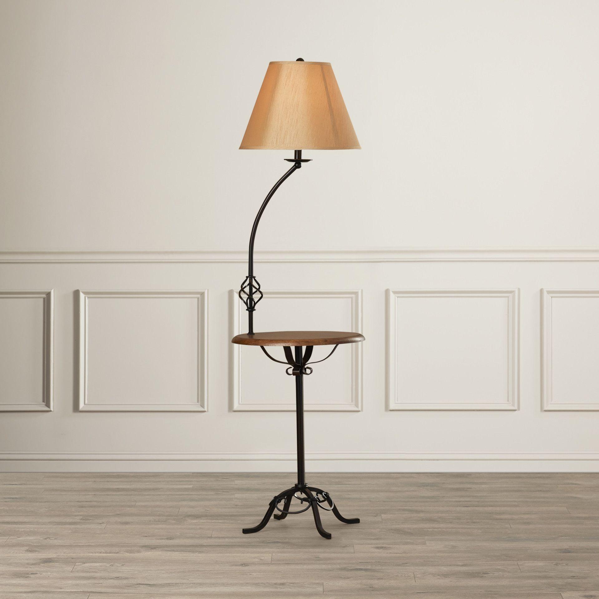 Leishman 62 Tray Table Floor Lamp