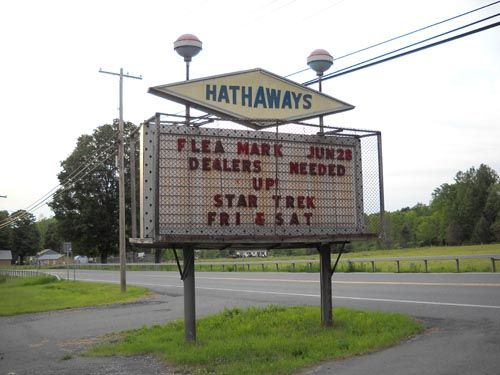 Hathaways drive in
