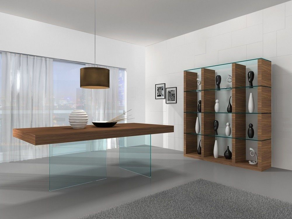 Chestnut Table In 2020 Modern Dining Table Contemporary Dining