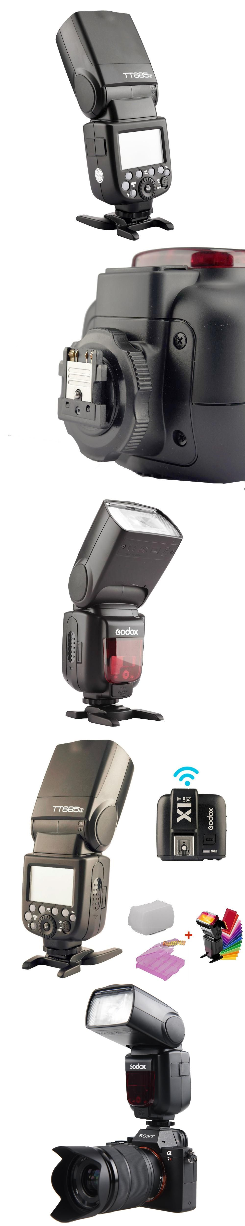 Godox Tt685s Gn60 Ttl Hss 1 8000s Flash Light Speedlite X1t S Untuk Sony Trigger