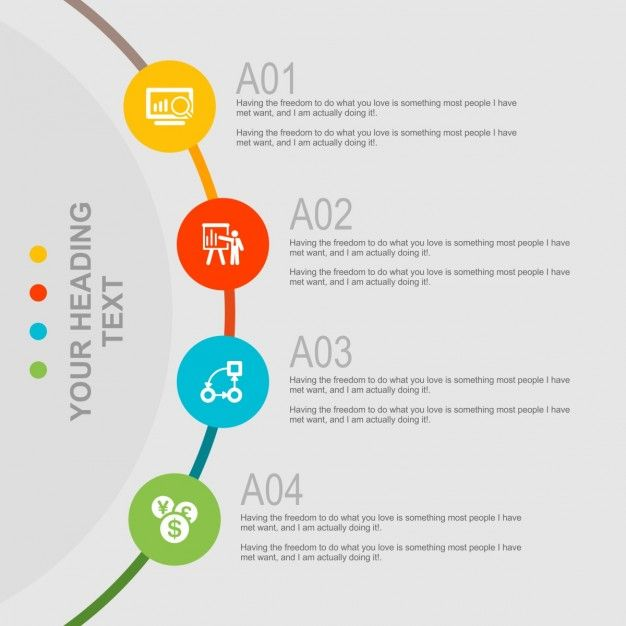 Creative infography template Free Vector Free stuff Pinterest - free annual report templates