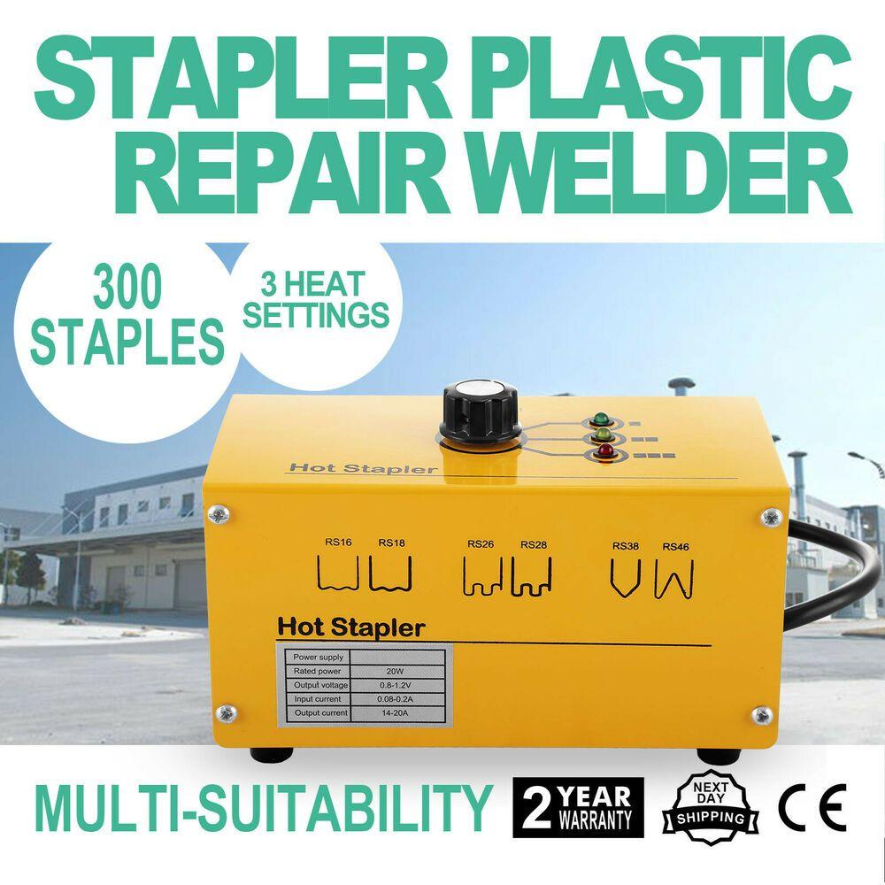 Plastic Bumper Welding MRCARTOOL 600pcs//Set 0.8 mm 0.6 mm Stainless Steel Hot Stapler Welder for Car Bumper Repair
