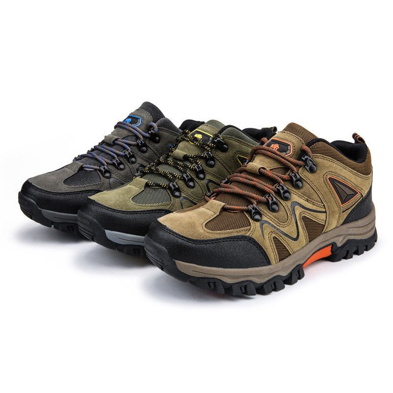 645e723fa8987e New Men s Hiking Shoes Outdoor Trail Trekking Sneakers Breathable ...