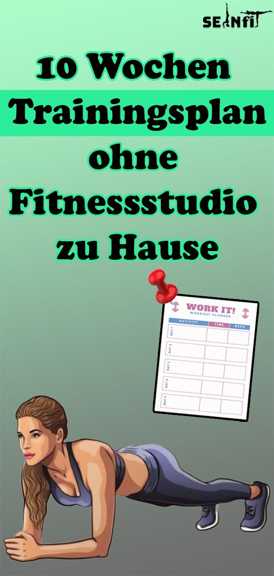 Photo of 10 week training plan without a gym at home