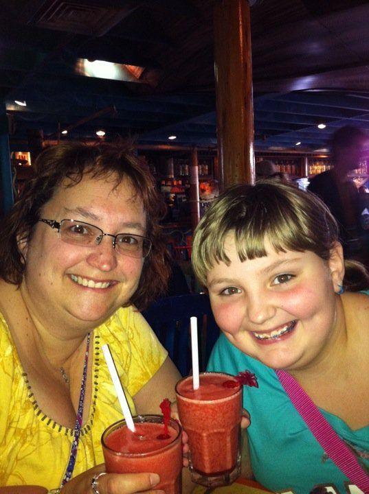 Rebecca and I at Margaritaville