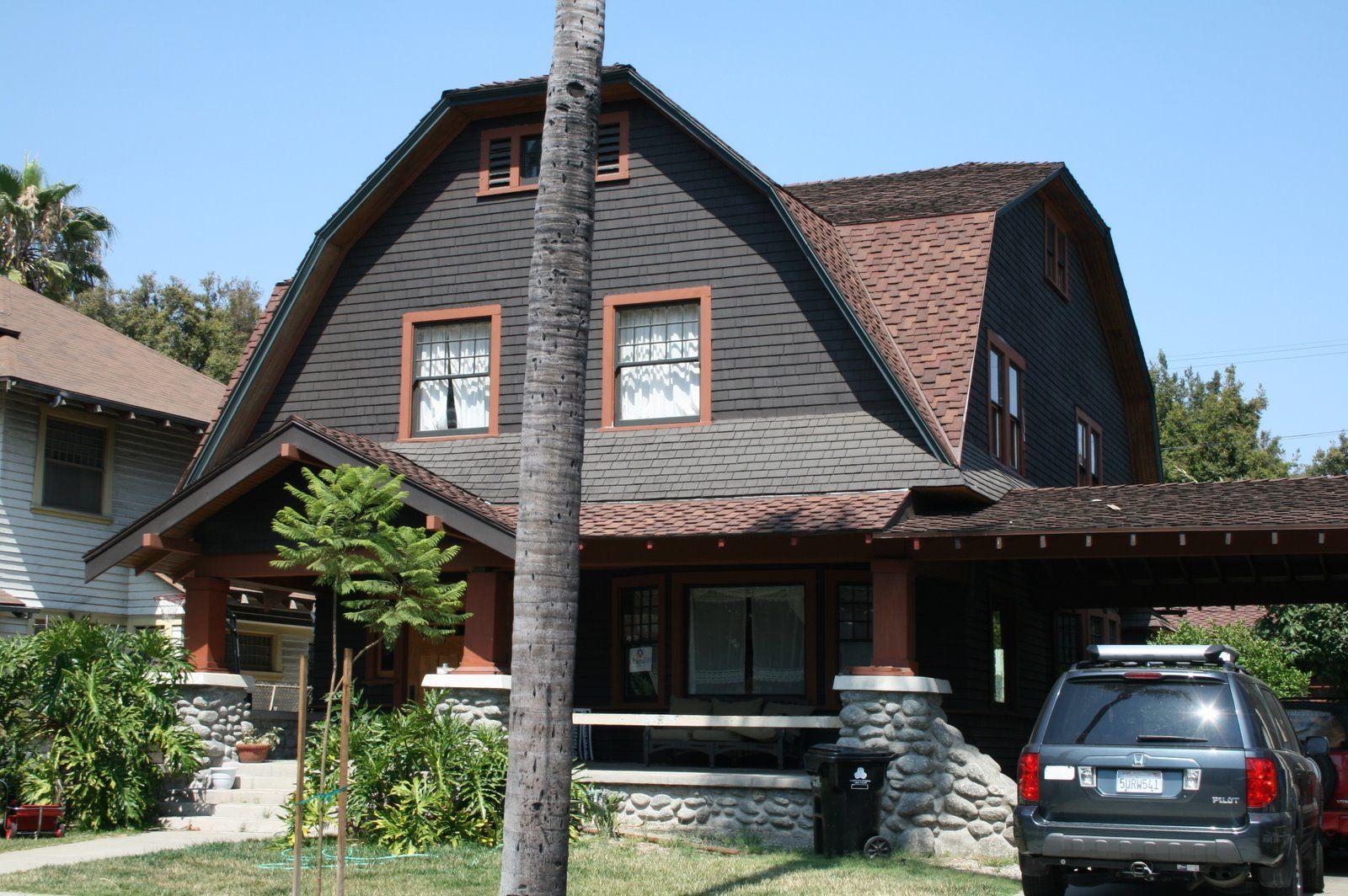 Recentering El Pueblo Shingle Style Part 2 Dutch Colonial Homes Colonial House House Designs Exterior