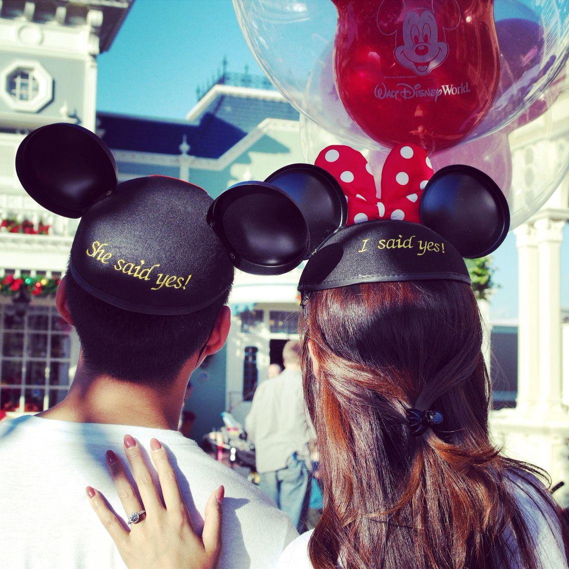 2014.11.09 'I Said YES!' #Disney #World #Proposal