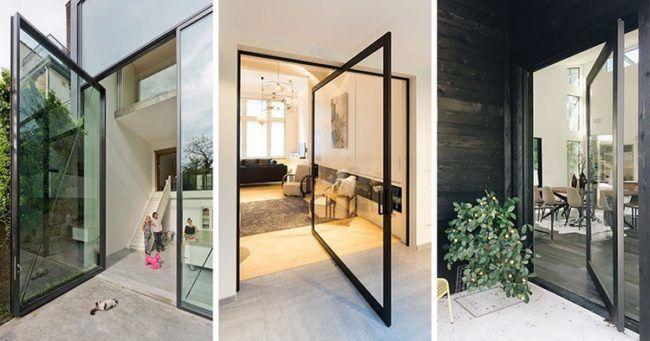 Modernes Haus Im Wald Mit Interessanter Konstruktion