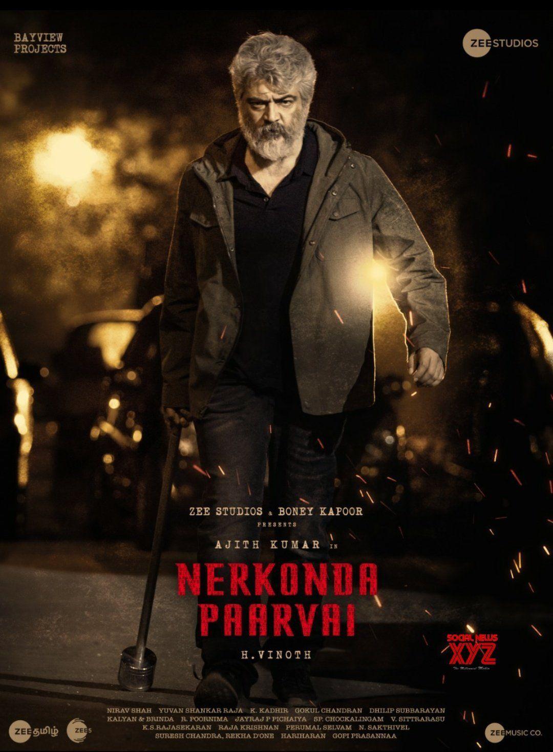Ajith's Nerkonda Paarvai Movie Latest Mass Poster | Social