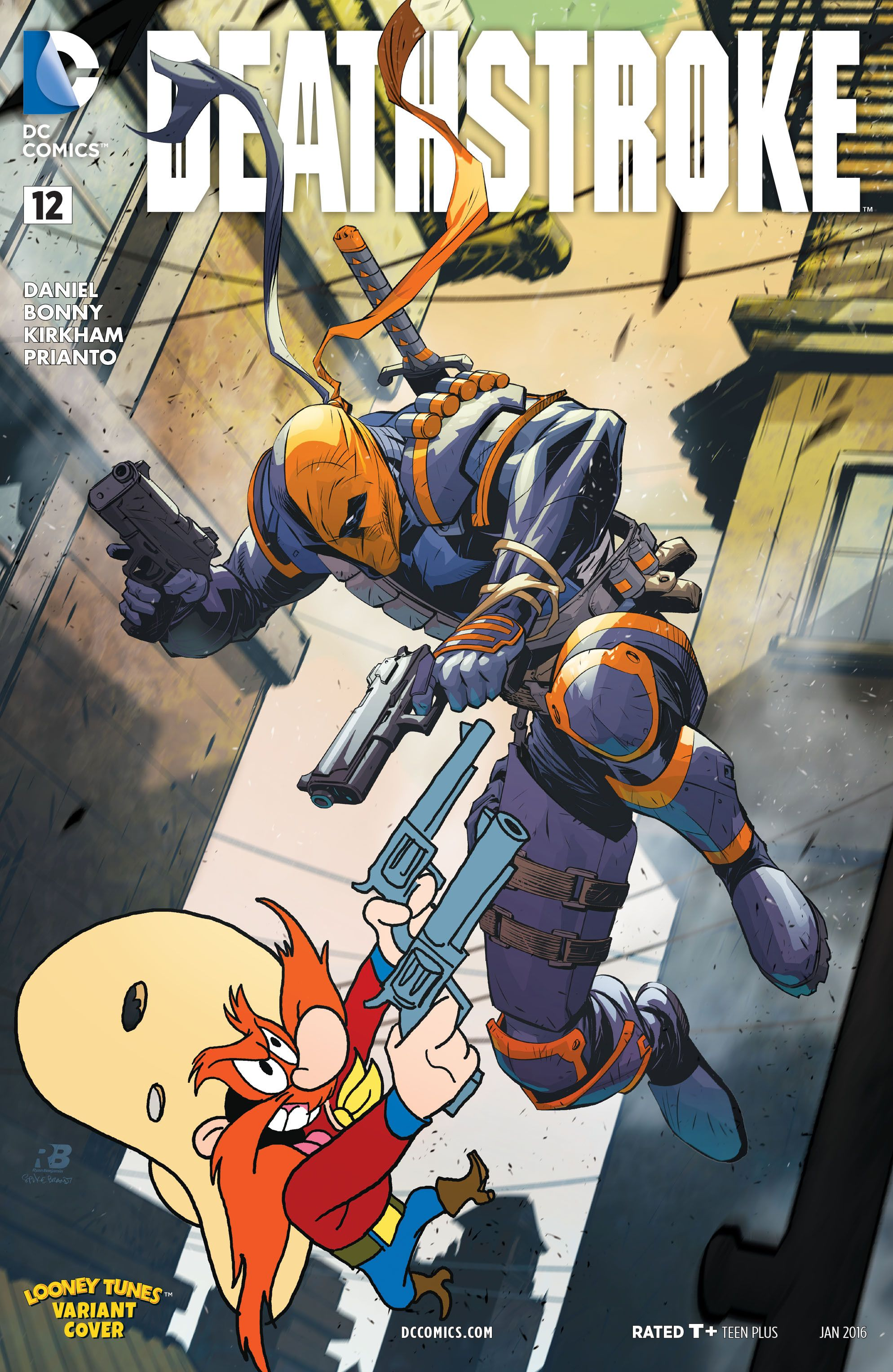 Deathstroke 2014 Issue 12 By Ryan Benjamin