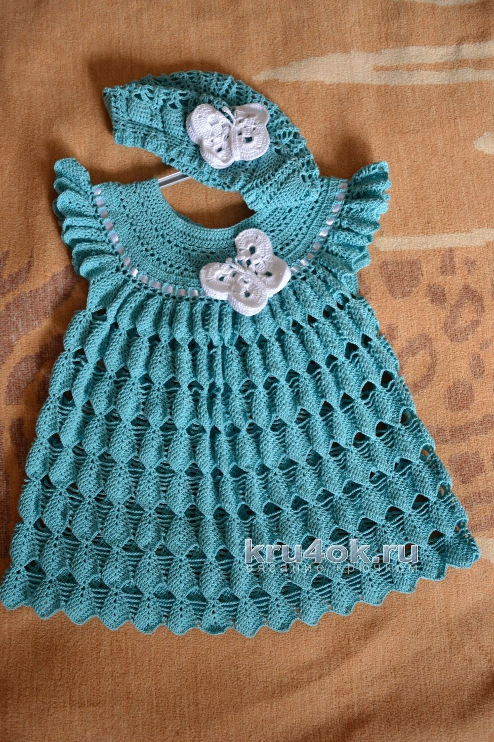 37 Creative Photo Of Vintage Crochet Baby Dress Pattern