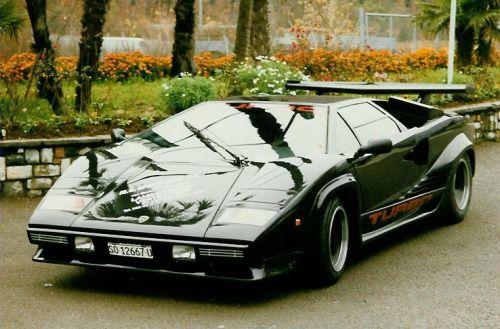 Lamborghini Countach LP5000S Twin,Turbo Mid 80\u0027s