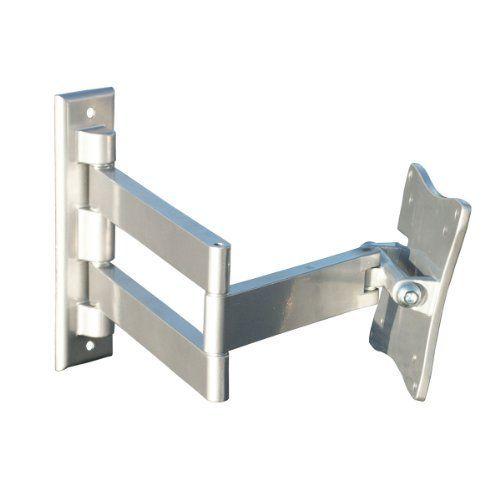 videosecu swing arm lcd led tv wall mount bracket for vesa 10075mm flat