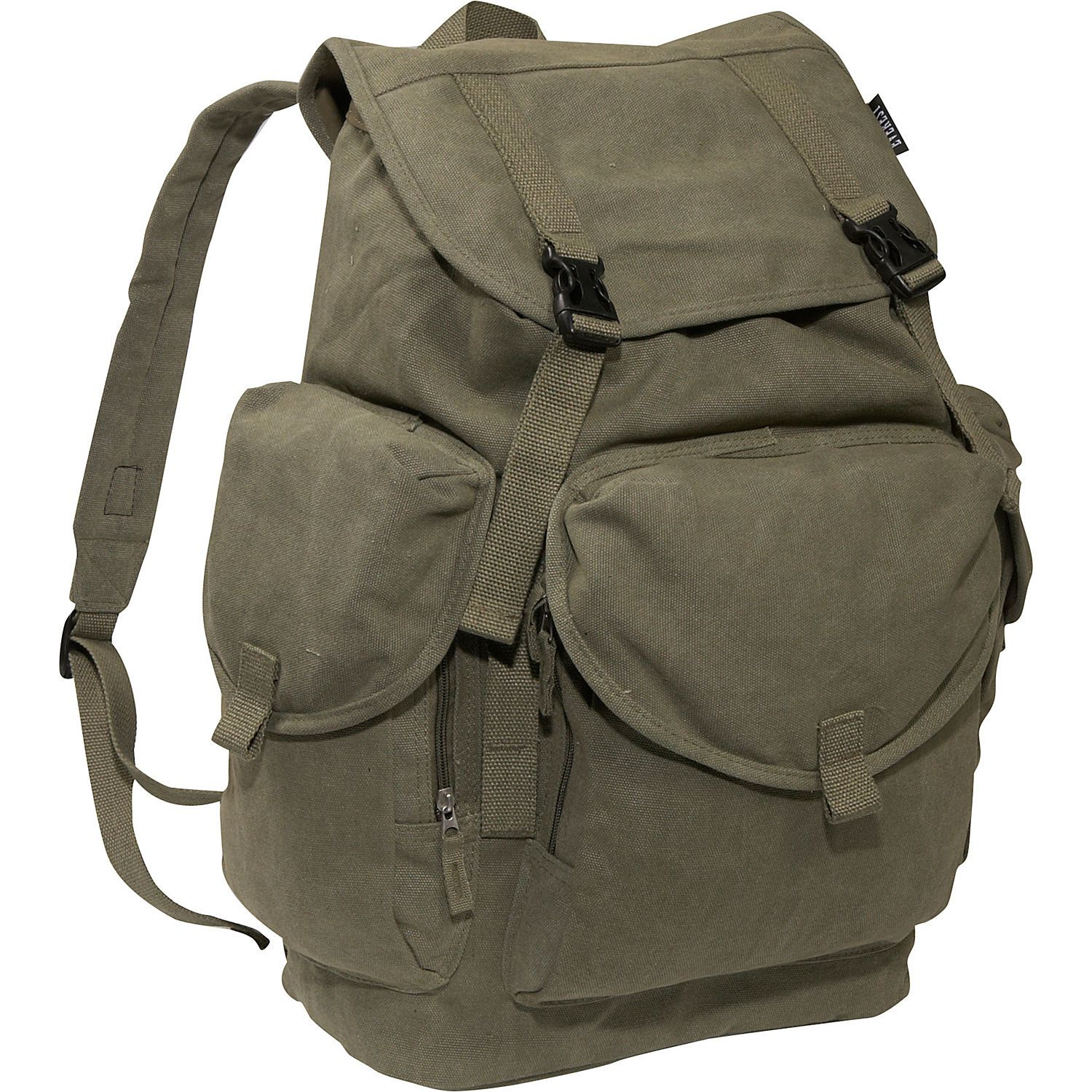 Buy the Everest Large Cotton Canvas Backpack at eBags - experts in bags and  accessories since 1999. We offer easy returns 8c40e1ca05421