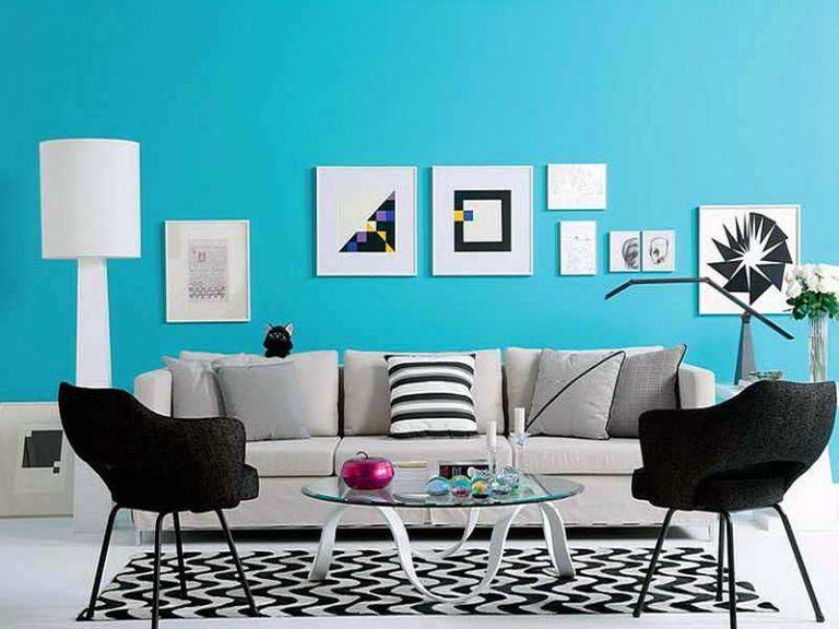 41 Ide Warna Cat Ruang Tamu Yang Cantik Terbaru Dekor Rumah Kamar Dekor Warna Ruang Tamu Ruangan