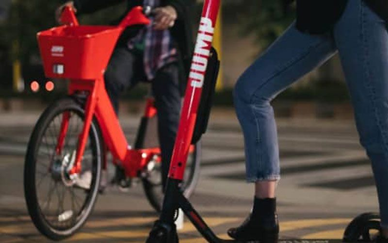 Uber Jump Is Launching Electric Bikes And Scooters In Paris Uber