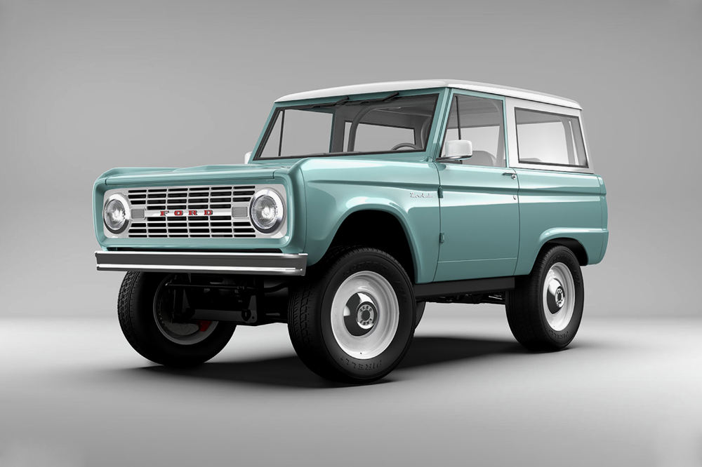 Zero Labs Unveils All Electric Ford Bronco With 600 Hp In 2020